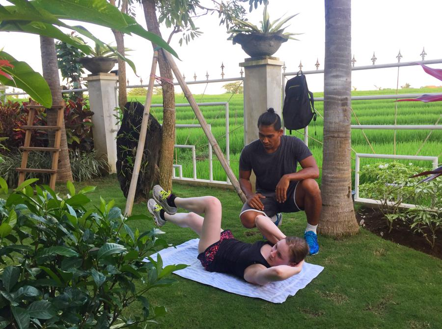 I Love Health Retreat Bali 2-9 oktober 2016, personal training