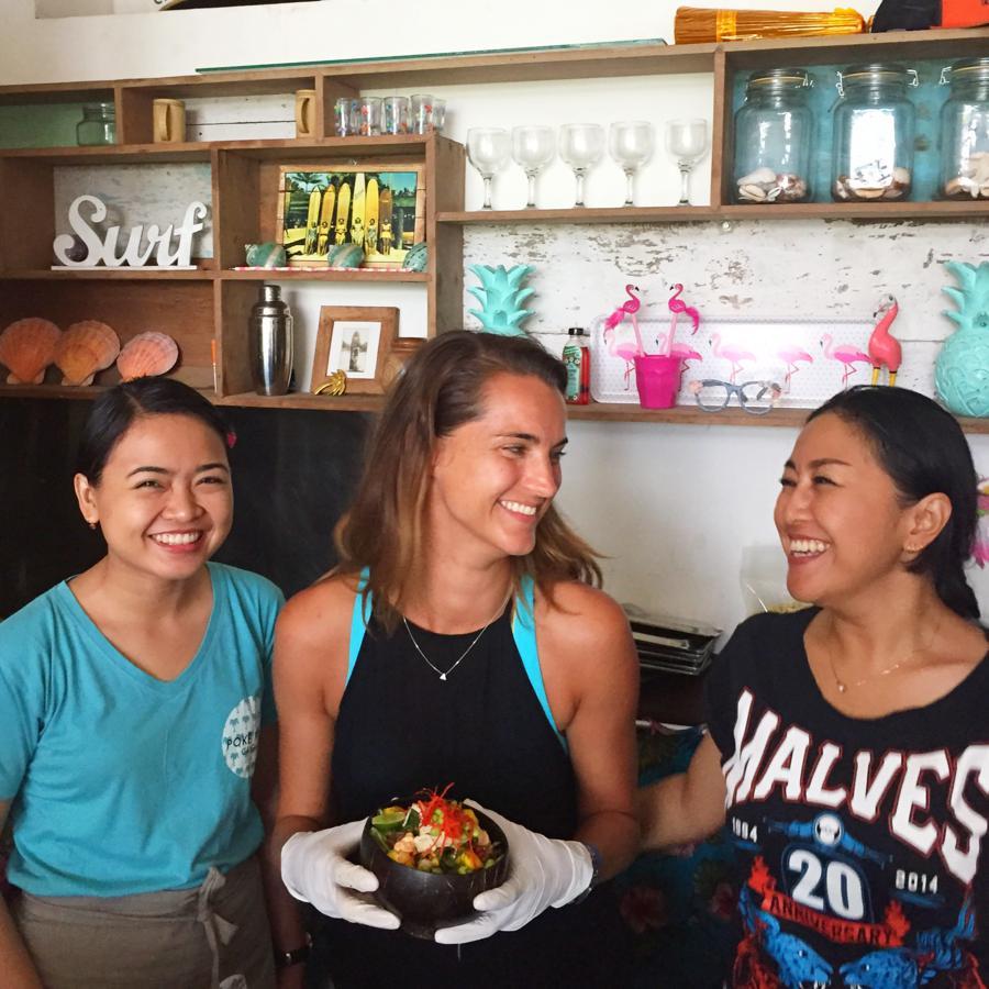 I Love Health Retreat Bali 2-9 oktober 2016, poke