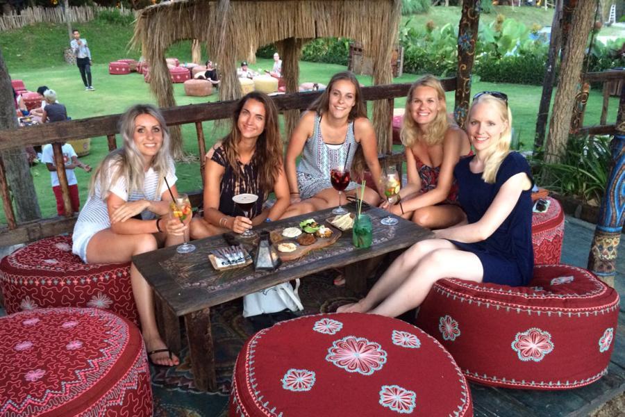 I Love Health Retreat Bali 2-9 oktober 2016, la laguna, cocktails