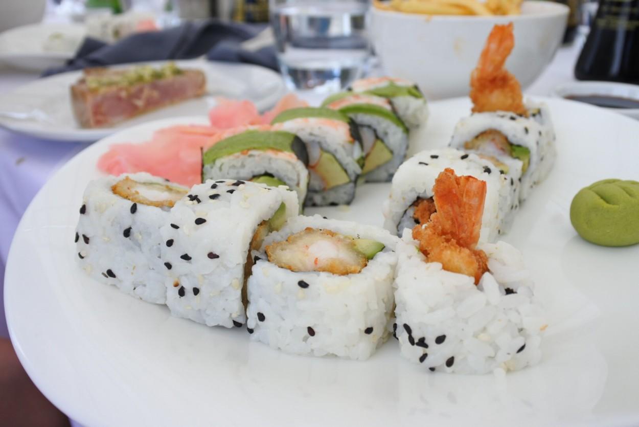 sushi bungalow kaapstad