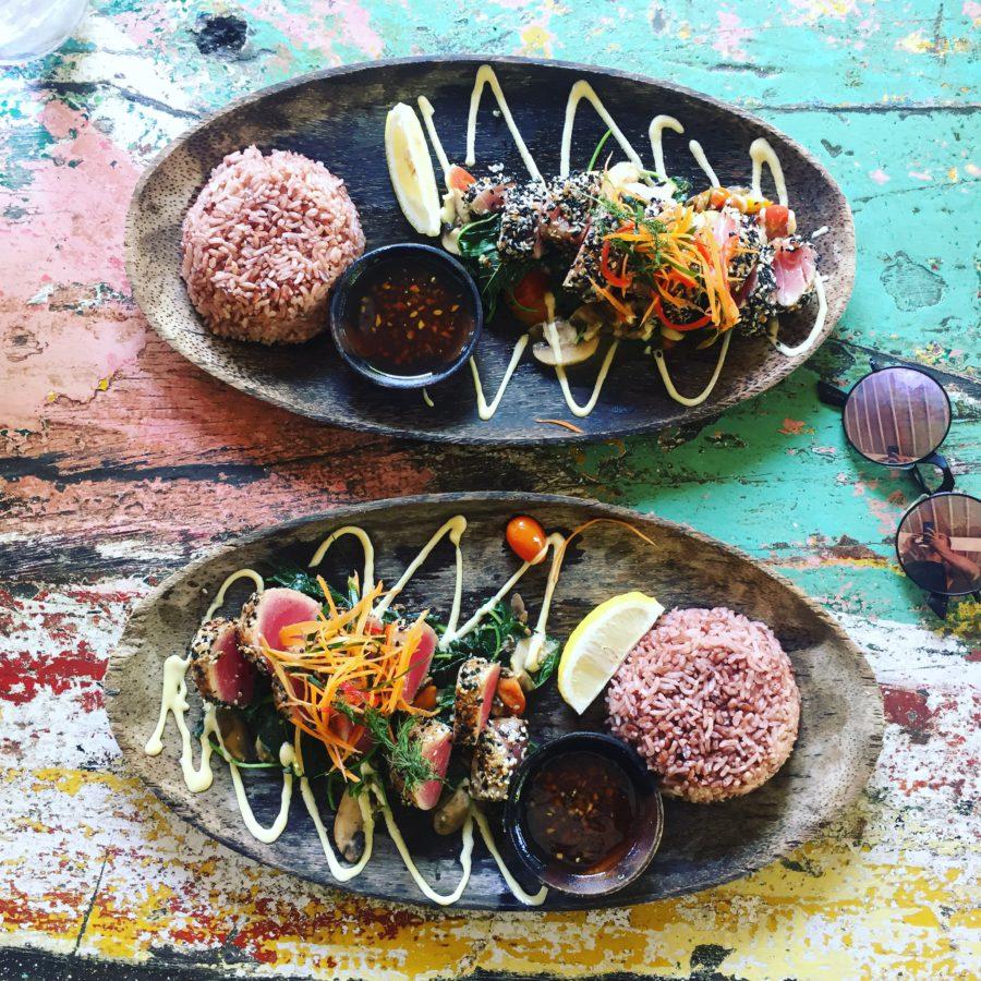 Bukit Cafe, Uluwatu, tonijn, bali