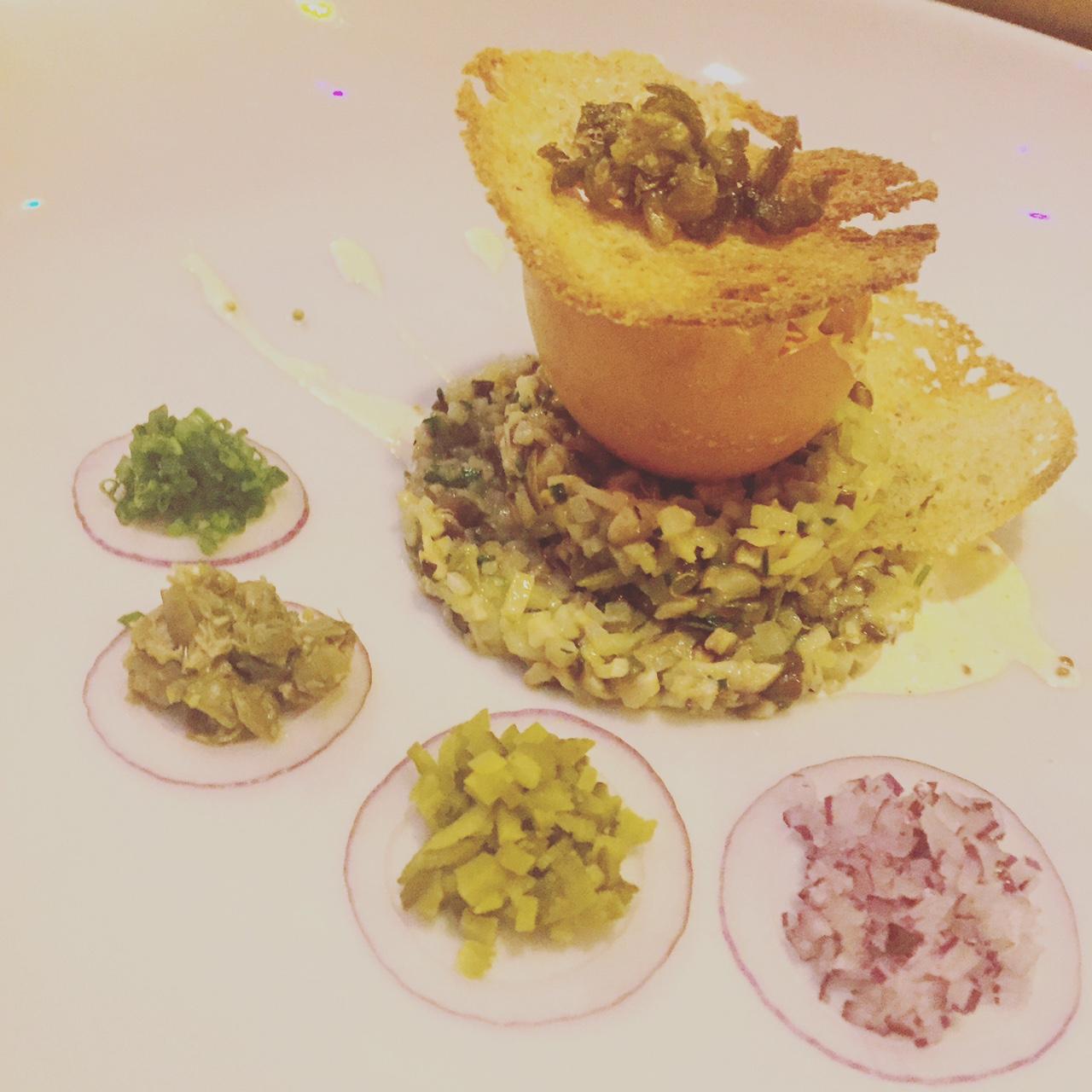 Cafe de Ceuvel, vegetarische tartaar