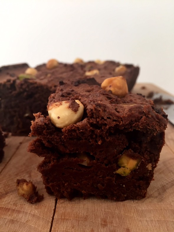 brownie avocado