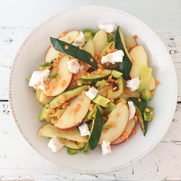 linzenkiemen salade