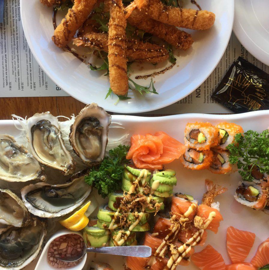 sushi, chalet du thorens, val thorens