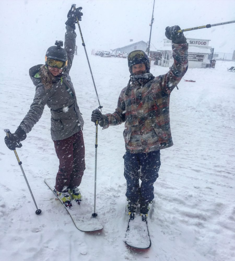 mono ski, val thorens, roij, daisy, wintersport