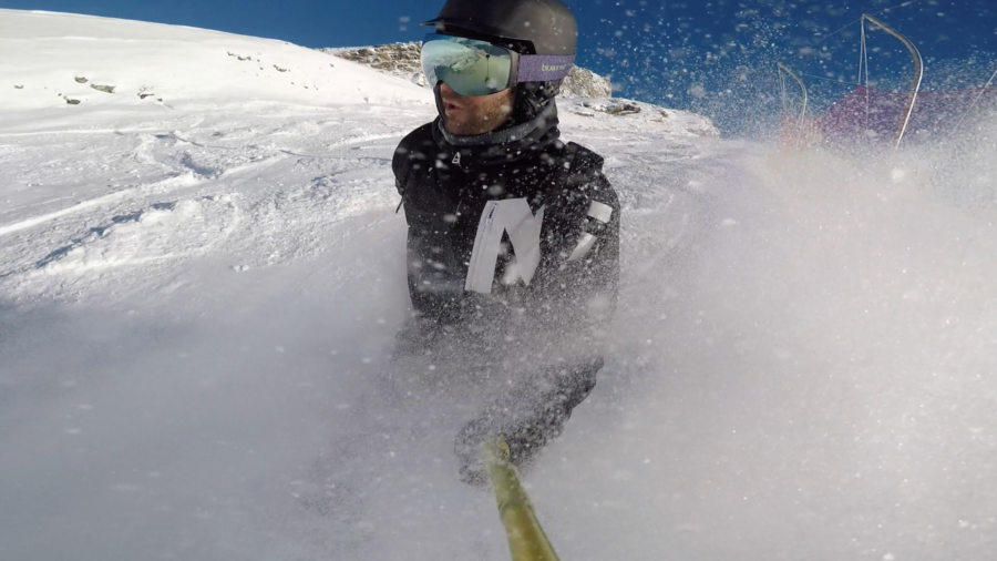 val thorens, roij, snowboarden