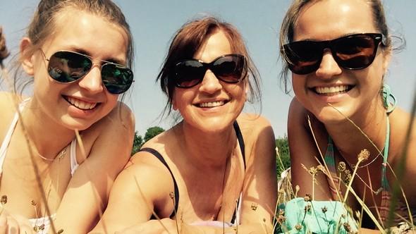 kaylee, moeder en ik