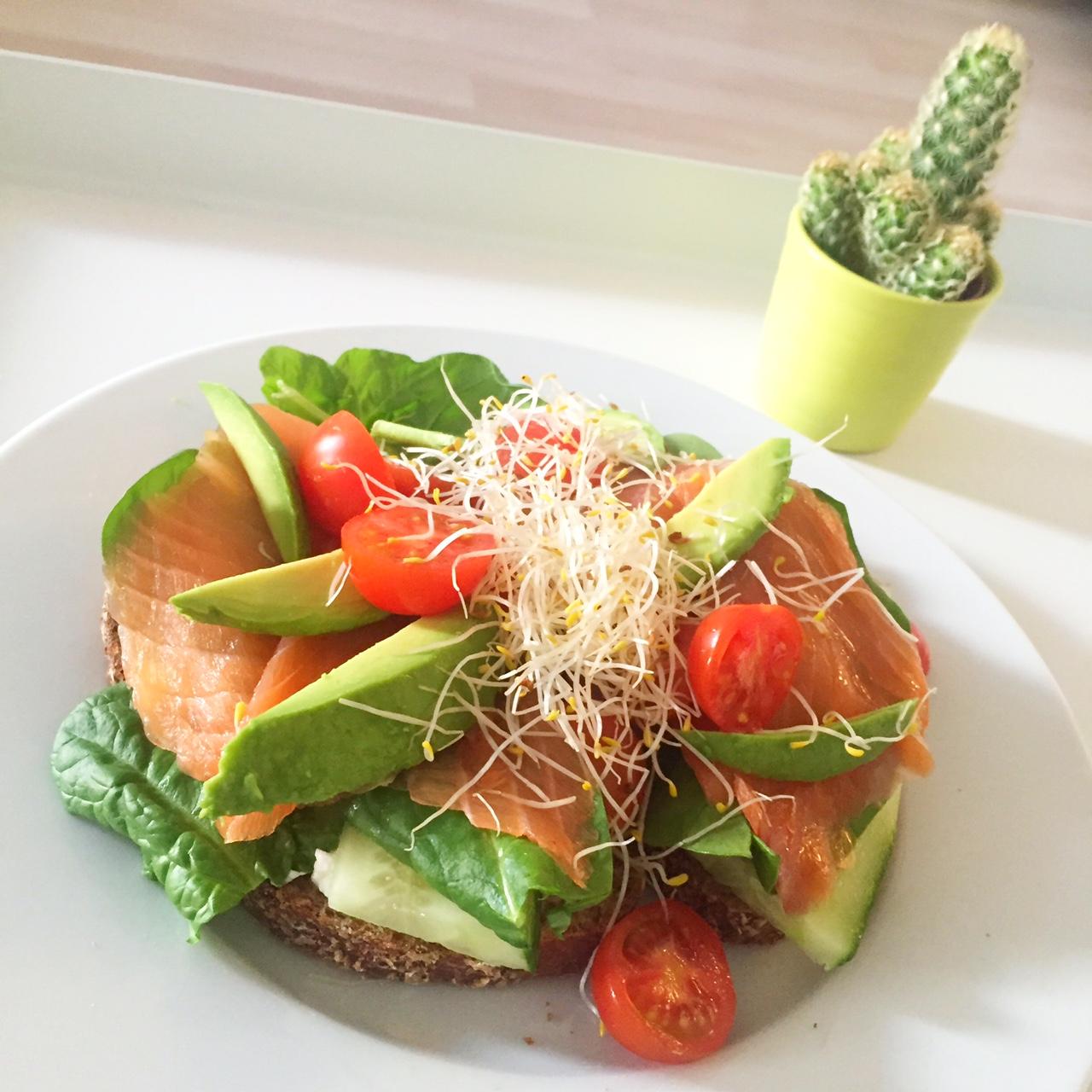 sandwich zalm
