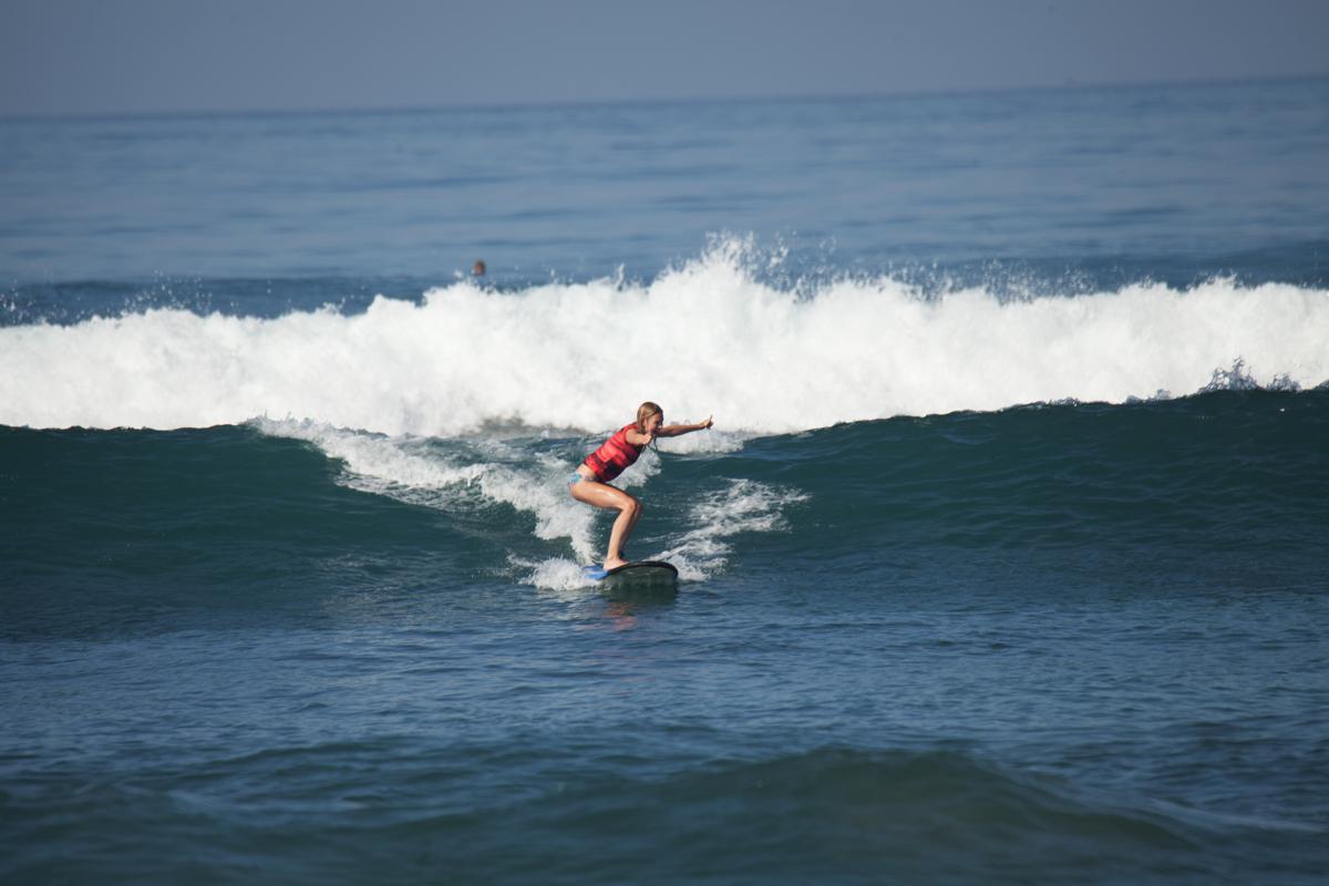 I Love Health Retreat Bali 2-9 oktober 2016, surfen
