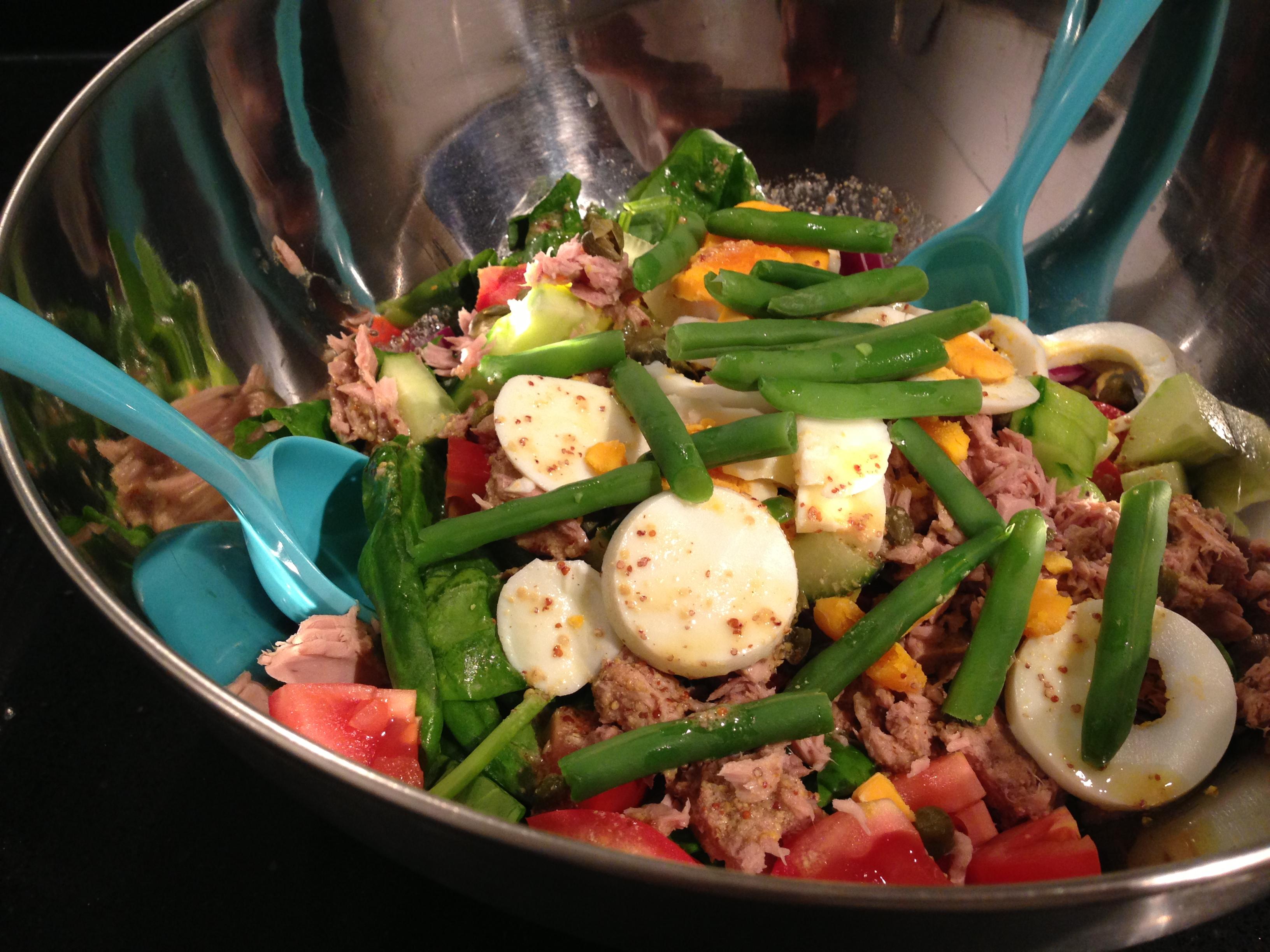 Eetdagboek salade