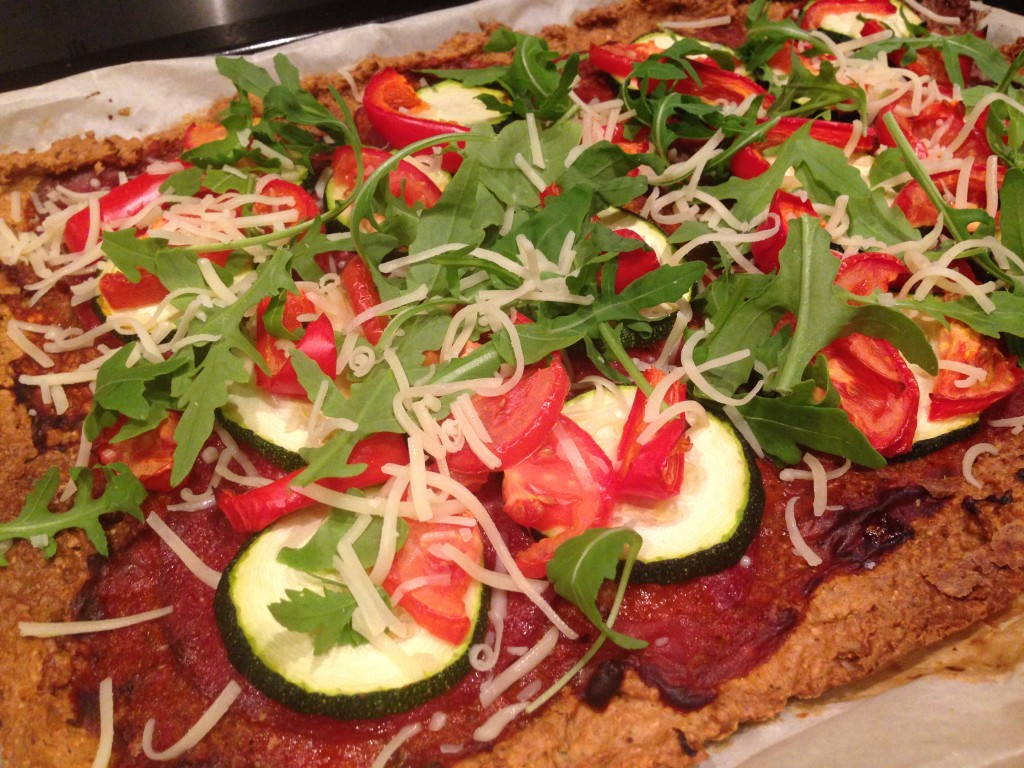 Eetdagboek gezonde pizza