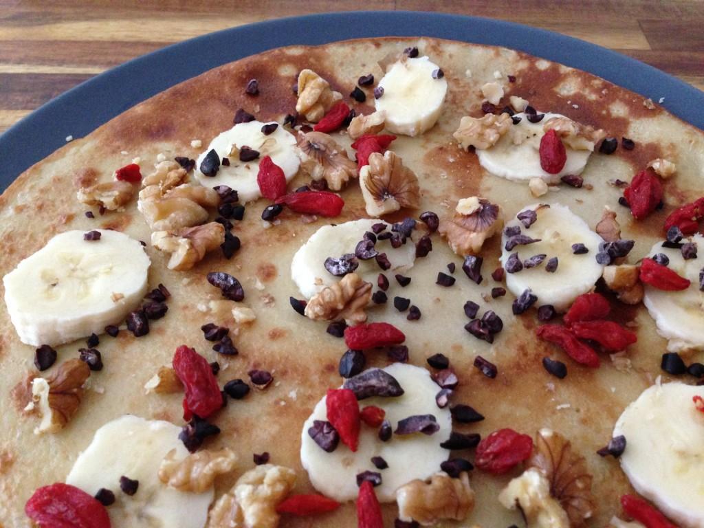 Quinoa pannenkoek als gezonde ontbijt