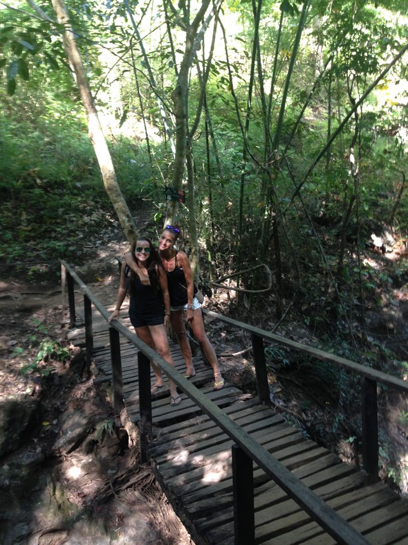 Waterval tour in Pai.