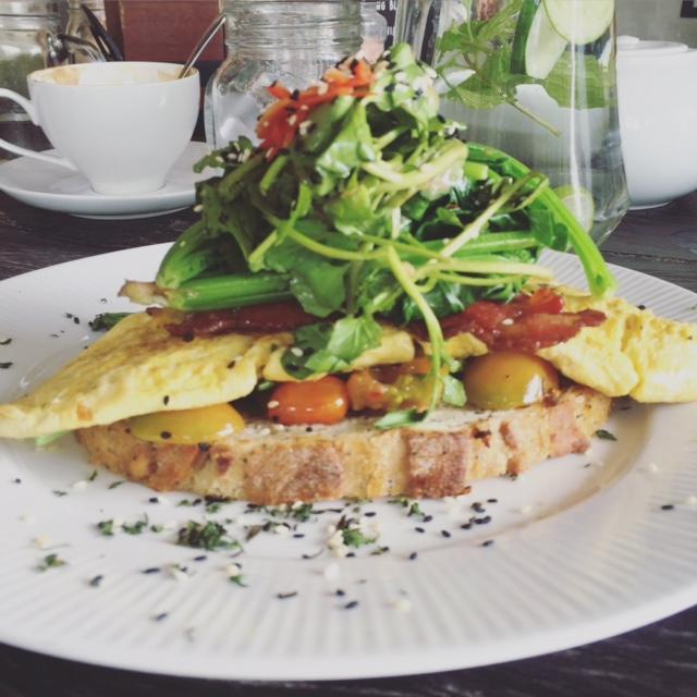 i love health retreat omelet ontbijt