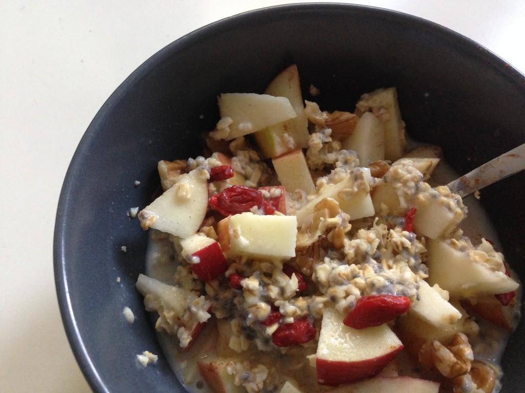 Overnight oats als gezond ontbijt