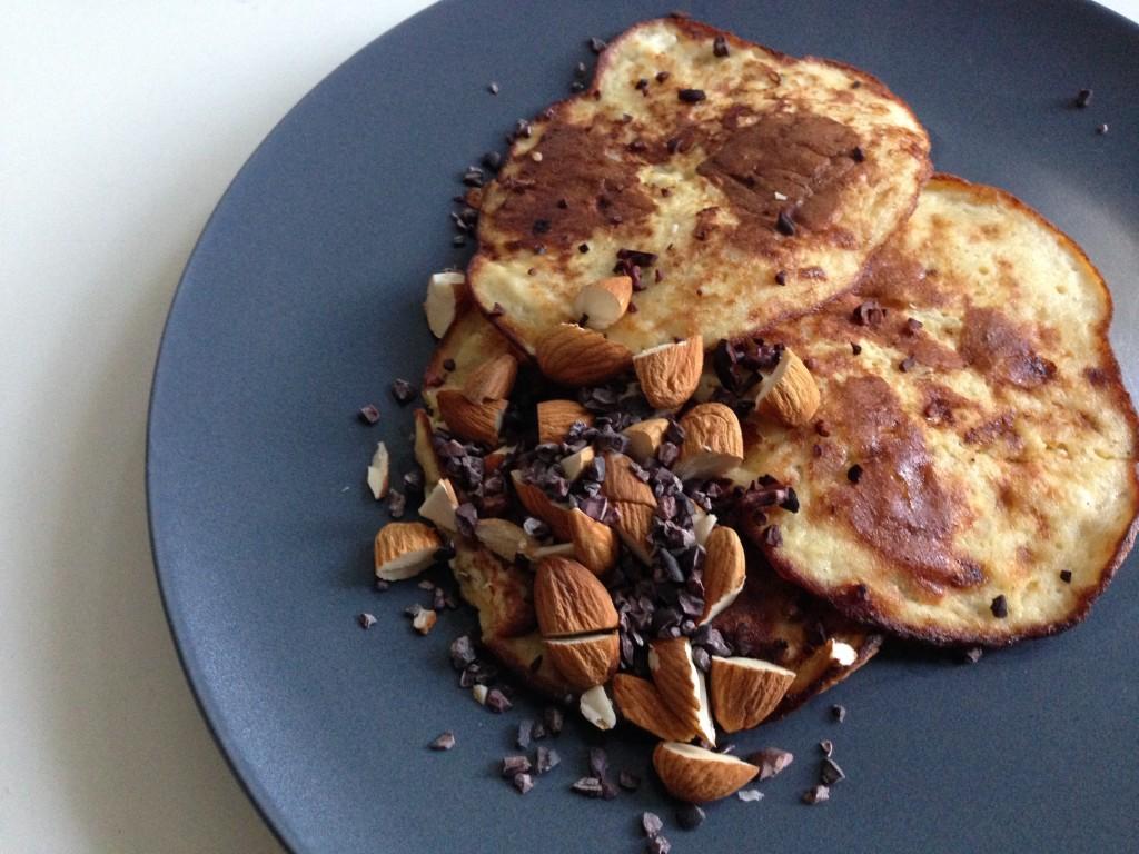 Banaan ei pannenkoekjes als gezond ontbijt _ gezonde pannenkoek