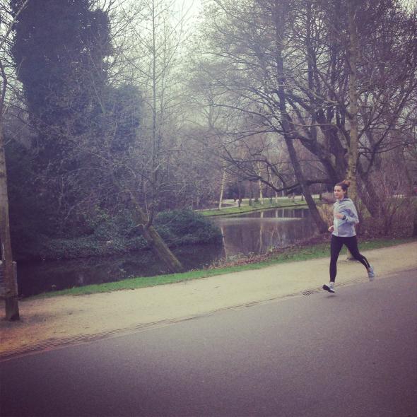 Hardlopen Vondelpark, running
