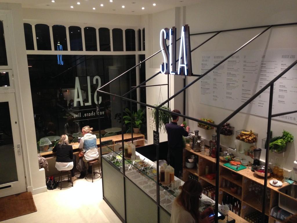 SLA Amsterdam - Salade bar