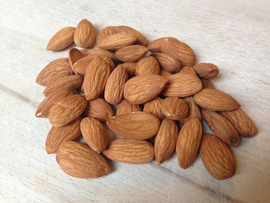 Amandelen zijn gezonde noten