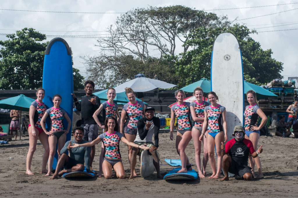 foto i love health retreat bali surfen april 2018
