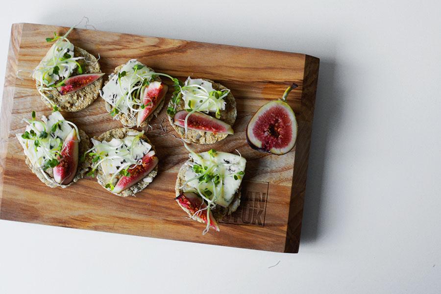 Havermout toastjes en kiemen