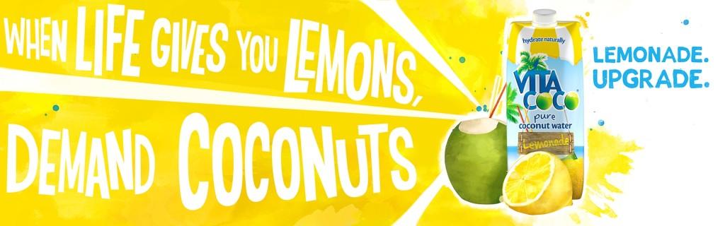 Vita Coco Lemonade - kokos drink