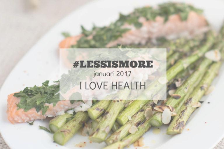 less is more januari 2017