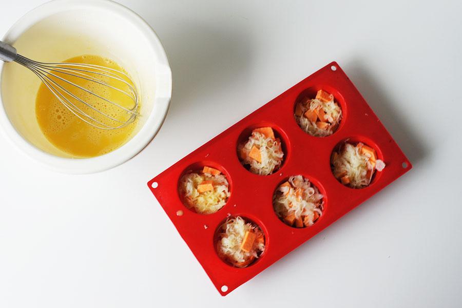 zuurkoolmuffins bereiden