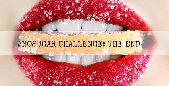 Nosugar challenge the end