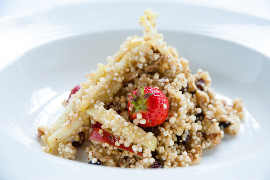 Gepofte quinoa recept NatureCrops