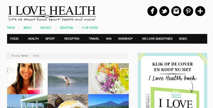 I Love Health enquete