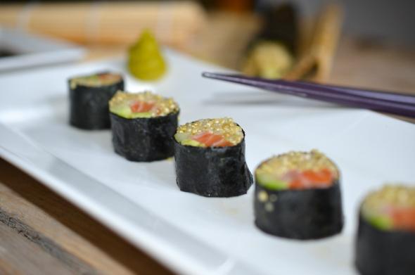 Quinoa Sushi - Eetdagboek Rens Kroes