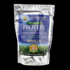 Sunwarrior Vanille Protein - eiwit poeder, eiwitten