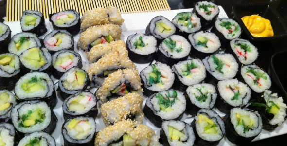Sushi - i love health eetdagboek