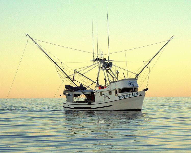Tammy Lin, George Eliason, alaska seafood