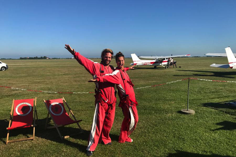 Texel Tips skydiven
