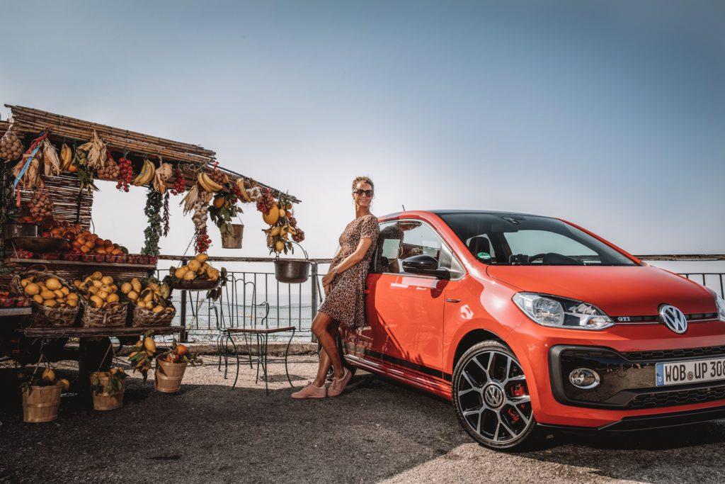 amalfi coast italie, daisy, fruit, volkswagen