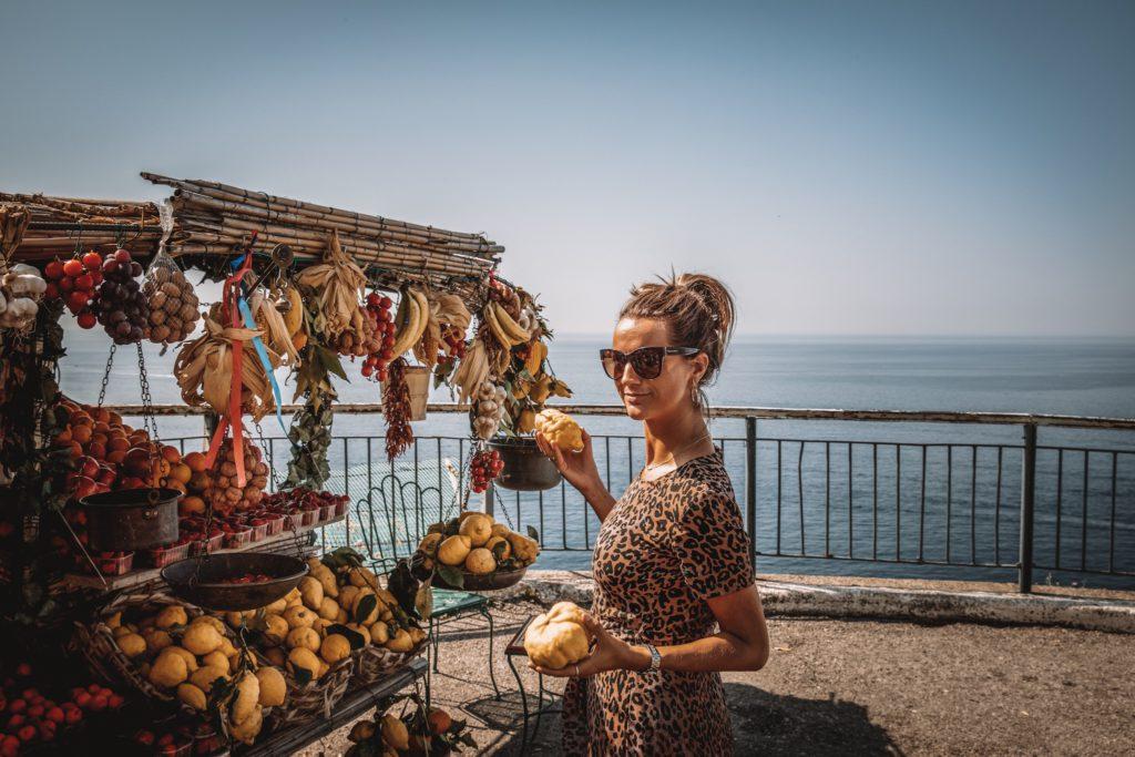 amalfi coast italie, daisy, fruit
