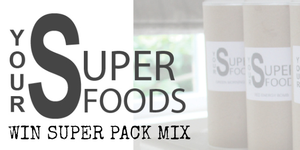 WIN super pack mix van yoursuperfoods.nl