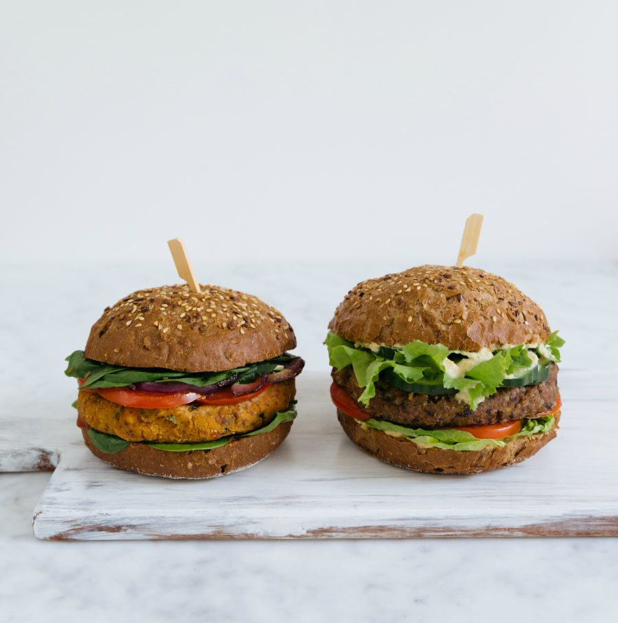 easy vegan, quinoaburger