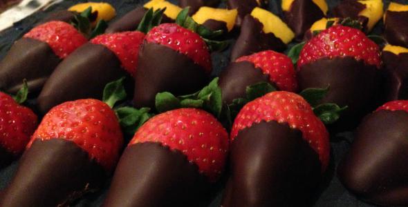 aardbeien chocolade o&ganic launch