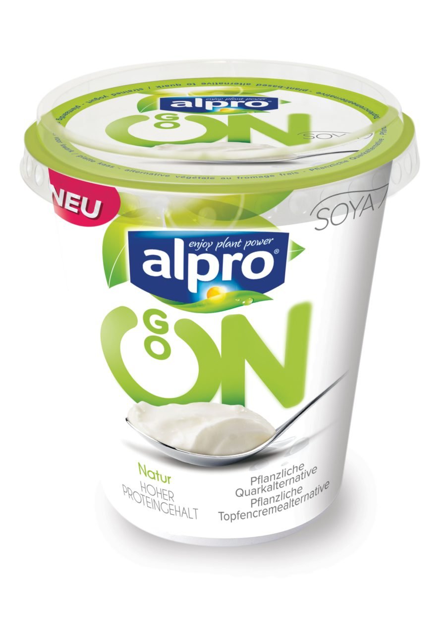Alpro go on what's new april