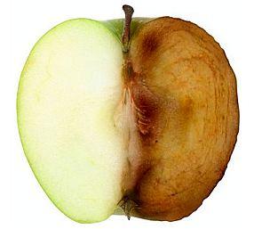 geoxideerde appel