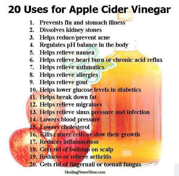 voordelen appel cider azijn