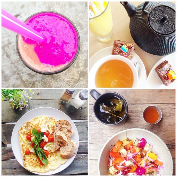 bali food foto's
