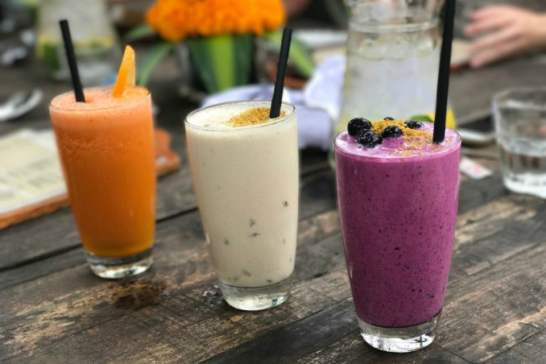 bali shady shack, smoothies