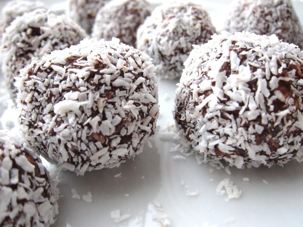 Recept chocolade kokos bonbons - gezonde desserts kerst