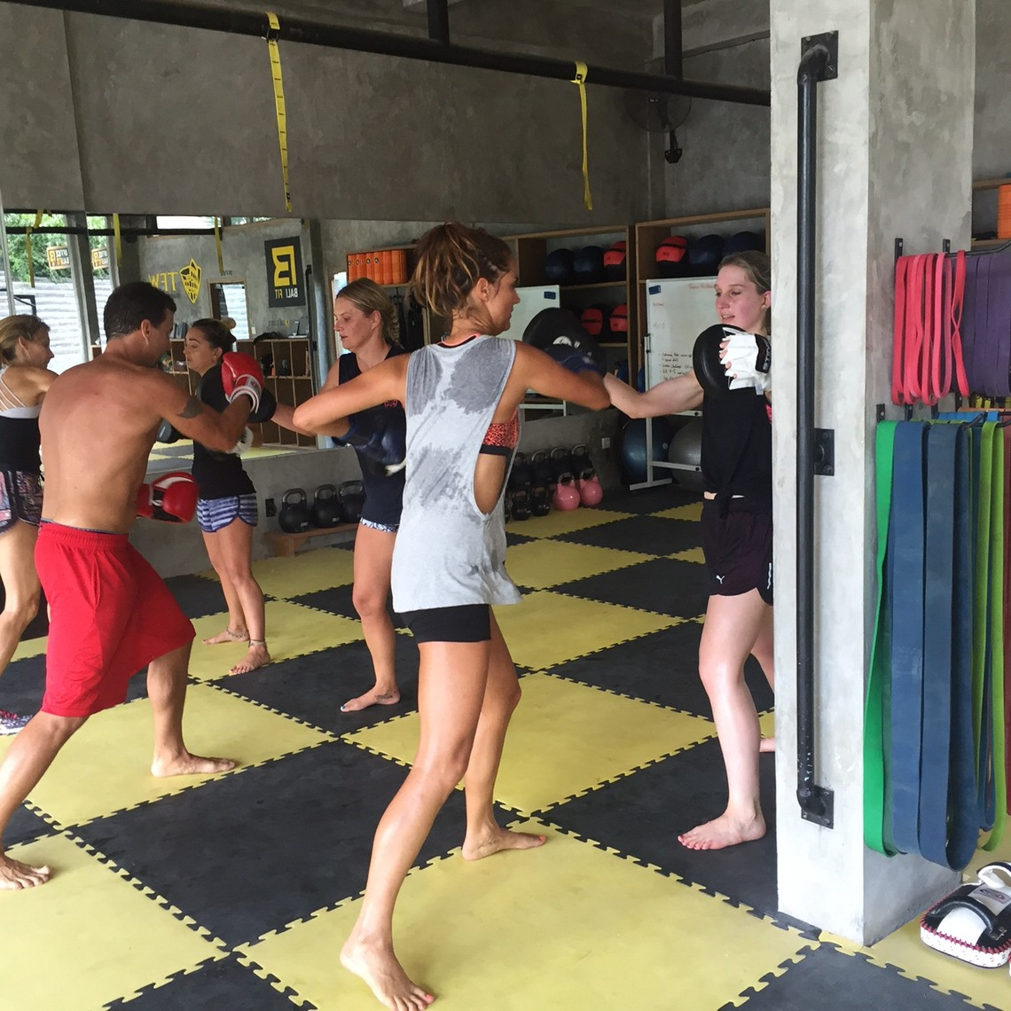 boxfit training bali fit i love health retreat bali
