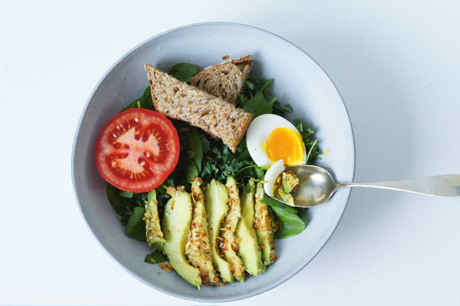 Avocado breakfastbowl, avocado recepten